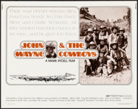 "The Cowboys & Other Lot (Warner Brothers, 1972). Rolled, Overall: Fine/Very Fine. Half Sheets (2) (22"" X 28..."