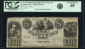 Obsoletes By State:Michigan, Ann Arbor, MI- Bank of Washtenaw at Office of Green, Brown & Co., New York $8 Dec. 9, 1835 G30 Lee ANN-6-19 PCGS Extremely...