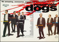 """Movie Posters:Crime, Reservoir Dogs (Rank, 1992). Very Fine on Linen. British Quad (30"""" X 40""""). Crime.. ..."""