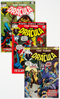 Bronze Age (1970-1979):Horror, Tomb of Dracula Group of 35 (Marvel, 1972-79) Condition: AverageVF.... (Total: 35 Comic Books)