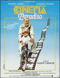 "Movie Posters:Foreign, Cinema Paradiso (Ariane, 1989). Folded, Very Fine-. French Grande (45.75"" X 59.5"") Jouineau Bourduge Artwork. Foreign.. ..."