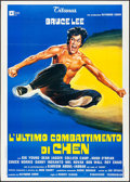 """Movie Posters:Action, Game of Death (Titanus, 1978). Folded, Very Fine-. Italian 2 - Fogli (39.25"""" X 55""""). Action.. ..."""
