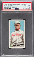 Baseball Cards:Singles (Pre-1930), 1909-11 T206 Sweet Caporal 150 Jake Stahl (No Glove Shows) PSA NM-MT 8 - Pop Five, None Higher!...