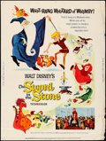 "Movie Posters:Animation, The Sword in the Stone (Buena Vista, 1964). Rolled, Fine+. Poster (30"" X 40""). Animation.. ..."