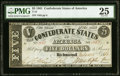 Confederate Notes:1861 Issues, T12 $5 1861 PF-1 Cr. 47 PMG Very Fine 25.. ...