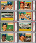Baseball Cards:Lots, 1956 Topps Baseball PSA Collection (21)....