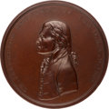 Political:Tokens & Medals, Thomas Jefferson: U. S. Mint Indian Peace Medal [IPM]....
