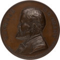Political:Tokens & Medals, Ulysses S. Grant: High-Relief Swiss Medal....