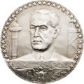 Political:Tokens & Medals, Woodrow Wilson: 1917 Paris Mint Medal in Silver....
