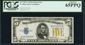 Small Size:World War II Emergency Notes, Fr. 2307* $5 1934A North Africa Silver Certificate. PCGS Gem New 65PPQ.. ...