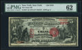New York, NY - $5 1875 Fr. 403 The Chase NB Ch. # 2370 PMG Uncirculated 62