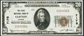 National Bank Notes:Kansas, Clifton, KS - $20 1929 Ty. 1 The First NB Ch. # 7178 Very Fine-Extremely Fine.. ...
