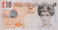 Prints & Multiples:Print, Banksy X Banksy of England. Di-Faced Tenner, 10 GBP Note, 2005. Offset lithographs in colors on paper. 3 x 5-5/8 inches ...