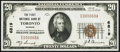 National Bank Notes:Kansas, Toronto, KS - $20 1929 Ty. 1 The First NB Ch. # 6819 Extremely Fine.. ...