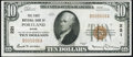 National Bank Notes:Maine, Portland, ME - $10 1929 Ty. 1 The First NB Ch. # 221 Very Fine+.....