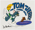Animation Art:Presentation Cel, The Tom and Jerry Comedy Show Publicity Cel (Filmation, c,1980)....