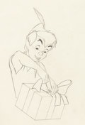 Animation Art:Production Drawing, Peter Pan Animation Drawing (Walt Disney, 1953)....