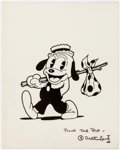 Animation Art:Poster, Pooch the Pup Studio Publicity Print (Walter Lantz, c. 1933)....