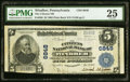 National Bank Notes:Pennsylvania, Windber, PA - $5 1902 Plain Back Fr. 598 The Citizens NB Ch. # 6848 PMG Very Fine 25.. ...