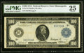 Large Size:Federal Reserve Notes, Fr. 1116 $100 1914 Federal Reserve Note PMG Very Fine 25.. ...