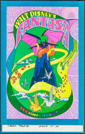 "Movie Posters:Animation, Fantasia (Buena Vista, R-1970). Very Fine. Window Card (14"" X 22""). Animation.. ..."