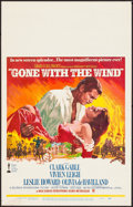 "Movie Posters:Academy Award Winners, Gone with the Wind (MGM, R-1968). Very Fine-. Window Card (14"" X 22"") Howard Terpning Artwork. Academy Award Winners.. ..."
