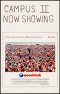 """Movie Posters:Rock and Roll, Woodstock (Warner Brothers, 1970). Very Fine/Near Mint. Window Card (14"""" X 22""""). Rock and Roll.. ..."""