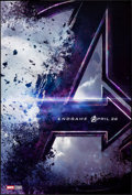 """Movie Posters:Action, Avengers: Endgame (Walt Disney Studios, 2019). Rolled, Very Fine+. One Sheet (27"""" X 40"""") DS Advance. Action.. ..."""