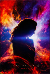 "Dark Phoenix (20th Century Fox, 2019). Rolled, Very Fine+. One Sheet (27"" X 40"") DS, Advance, Style A. Science..."