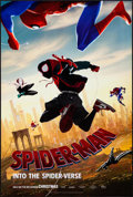 """Movie Posters:Action, Spider-Man: Into the Spider-Verse (Sony, 2018). Rolled, Very Fine+. One Sheet (27"""" X 41""""). Action.. ..."""