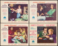 """Movie Posters:Hitchcock, Rear Window & Other Lot (Paramount, 1955). Very Fine. Spanish Lobby Cards (4) (11"""" X 14""""). Hitchcock.. ... (Total: 4 Items)"""