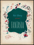 "Movie Posters:Animation, Fantasia (RKO, 1940). Very Fine-. Program (Multiple Pages, 9.5"" X 12.5""). Animation.. ..."