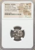 Ancients:Greek, Ancients: MOESIA. Istrus. Ca. 4th century BC. AR drachm (18mm, 5.89gm, 1h). NGC XF 4/5 - 3/5, scratches....