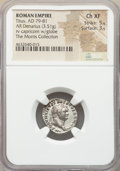 Ancients:Roman Imperial, Ancients: Titus, as Augustus (AD 79-81). AR denarius (19mm, 3.51gm, 5h). NGC Choice XF 5/5 - 3/5....