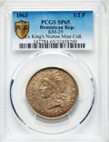 Dominican Republic, Dominican Republic: Republic Specimen 1/2 Peso 1963 SP65 PCGS,...