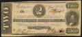 Confederate Notes:1863 Issues, T61 $2 1863 PF-6 Cr. 471 Very Fine.. ...