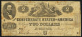 Confederate Notes:1862 Issues, T42 $2 1862 PF-5 Cr. 337 Very Good-Fine.. ...