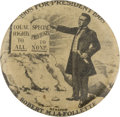 "Political:Pinback Buttons (1896-present), Robert M. LaFollette: An Amazing and Never-Before-Seen 1908 Hopeful Design in 1 1/4"" Size...."