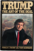 Autographs:U.S. Presidents, Donald J. Trump: An Outstanding Signed Copy of His Classic Book The Art of the Deal.. ...