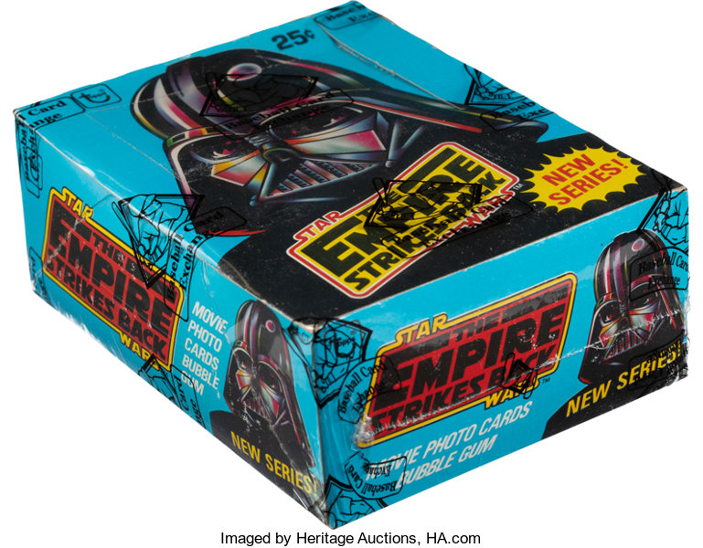 1980 Topps Star Wars EMPIRE STRIKES BACK SERIES 2 Wax Pack