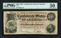 Confederate Notes:1864 Issues, T64 $500 1864 PF-2 Cr. 489 PMG About Uncirculated 50.. ...