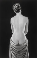 Photographs:Gelatin Silver, Ruth Bernhard (American, 1905-2006). Draped Torso, San Francisco, California, 1962. Gelatin silver, printed later. 19-3/...