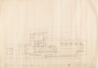 Frank Lloyd Wright (American, 1867-1959) Drawings and Renderings of the Dr. and Mrs. Isadore Zimmerman House, M