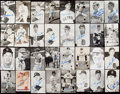Autographs:Post Cards, 1968 Detroit Tigers - World Series Champs - Signed Photograph & Postcard Lot of 37....