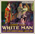 "Movie Posters:Drama, White Man (Preferred Pictures, 1924). Folded, Fine/Very Fine. SixSheet (80"" X 78.25""). Drama. From the Collection of Fran..."