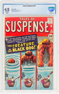 Tales of Suspense #23 (Marvel, 1961) CBCS VG+ 4.5 Off-white to white pages