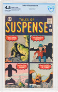 Silver Age (1956-1969):Science Fiction, Tales of Suspense #28 (Marvel, 1962) CBCS VG+ 4.5 Cream to off-white pages....