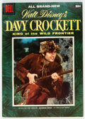 Golden Age (1938-1955):Miscellaneous, Dell Giant Comics Davy Crockett #1 (Dell, 1955) Condition: VF....