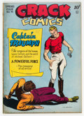 "Golden Age (1938-1955):Superhero, Crack Comics #41 Davis Crippen (""D"" Copy) Pedigree (Quality, 1946) Condition: VF-...."