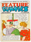 Platinum Age (1897-1937):Miscellaneous, Feature Funnies #2 (Chesler, 1937) Condition: GD+....